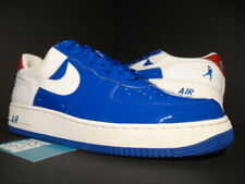 new concept 2b8ce 2b1ab 2006 NIKE AIR FORCE 1 SHEED LOW DETROIT PISTONS BLUE JAY WHITE RED 306347- 411