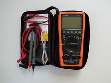 VC97 3999 B LCD Auto range multimeter Capacitance Resistance vs FLUKE 15B tester