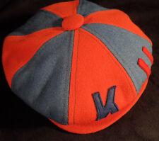 Vintage University of Kansas Jayhawks KU Newsboy Style Hat -- X Small 6 1/4