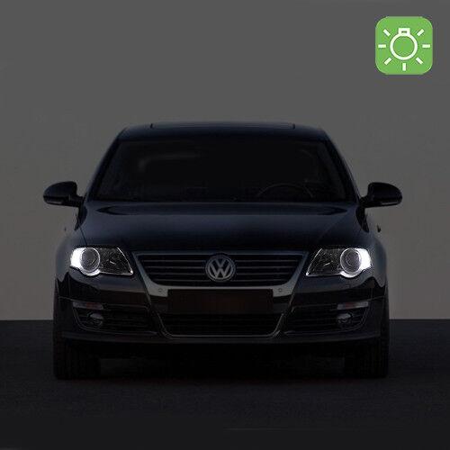 2 Ampoules à Led Blanc Veilleuses / Feux De Position Pour Volkswagen Passat B6