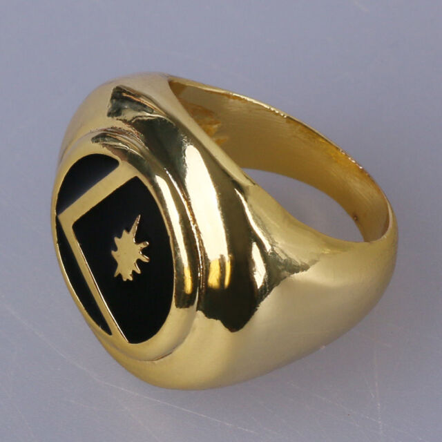 GOLD LEGION FLIGHT RING replica props booster superhero
