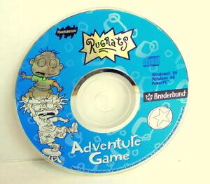 Rugrats-Adventure-Game-PC-CD-ROM-Nickleodeon-Win-95-98-PowerPC-Broderbund-1998
