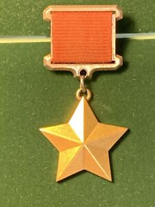 WW II GOLD  STAR  MEDAL HERO OF SOVIET UNION # 5568, Award to SHELEPOV PETR E.