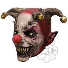 Halloween Overhead Latex Scary Evil Jester Clown Props Costume Horror Party Mask