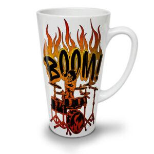 Skeleton Drummer NEW White Tea Coffee Latte Mug 12 17 oz | Wellcoda