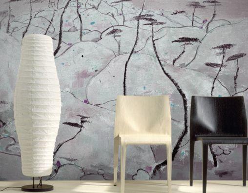 3D Lange, whitee Vase 8988 Fototapeten Wandbild Fototapete BildTapete FamilieDE