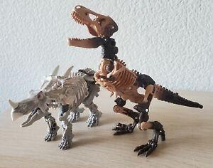 Transformers War for Cybertron Kingdom WFC-K7 Paleotrex & WFC-K15 Ractonite