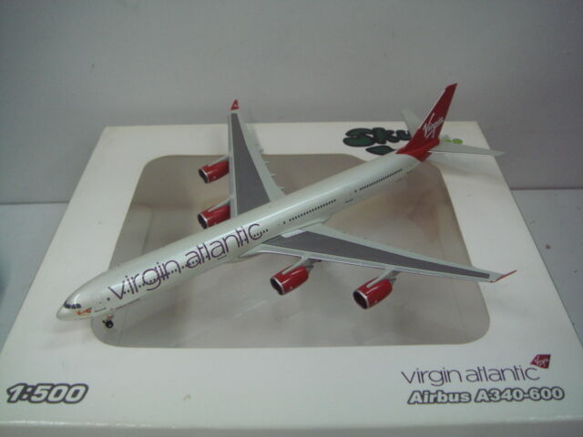 Sky 500 Virgin Atlantic Airways A340-600