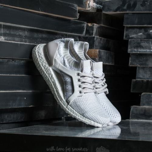 Adidas Ultra Boost X BB0879 White Ivory Mesh Satin Running Shoe Women