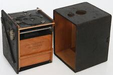 Kodak Bullseye No. 2 Model D Box Camera c. 1899 wood