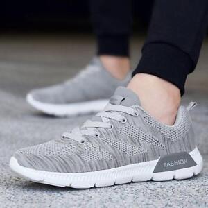 eed20735da6 New Mens Womens Mesh Walking Sneakers Casual Comfortable Running ...