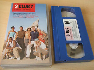 S-Club-7-VHS-Video-It-039-s-An-S-Club-Thing-Feat-Bring-It-All-Back-S-Club-Party