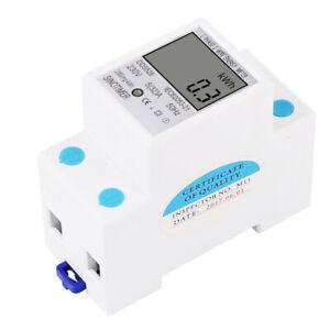 220V-Contador-Energia-digital-Medidor-de-electricidad-Carril-2P-Din-KWH