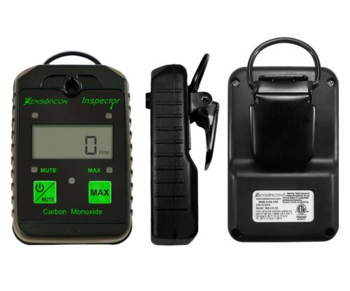 Sensorcon Portable Handheld Carbon Monoxide CO Inspector Detector Car Travel