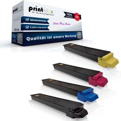 4x Printer CARTUCCE TONER PER TRIUMPH-ADLER DCC 6520 6525 la-COLOR PLUS SERIE