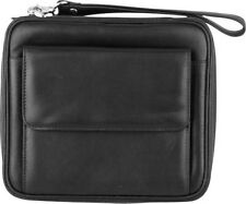 GENUINE BLACK SHEEP NAPPA LEATHER COMPARTMENT 6 PIPE CASE BAG NEW PFEIFENTASCHE