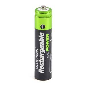 Uhr Dauerhafter Service Haushaltsbatterien & Strom Akkus Wiederaufladbare Batterie Pack Von 4 Aaa 550ma Lloytron Ni-mh Fernbedienung
