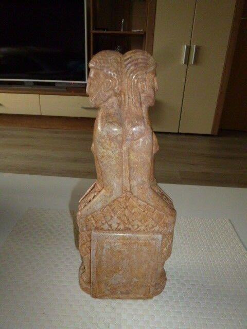 Alte sehr Seltenen Figuren Mann und Frau Ägypten