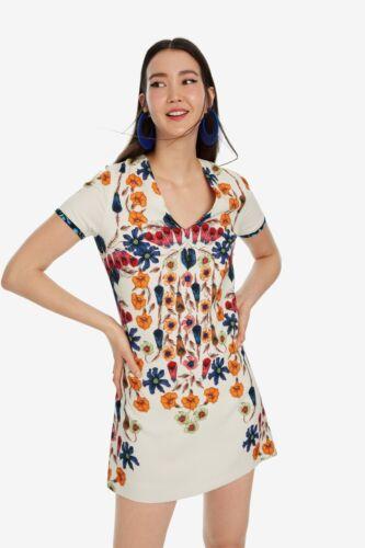 Desigual Vest Cork señora vestido de flores