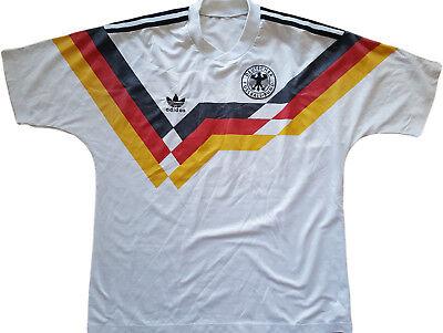 maglia germania 1990 adidas vintage Home Jersey World Cup Mondiali Italia 90   eBay