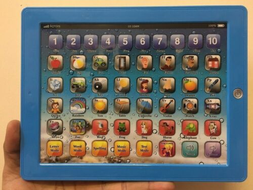 Tablet Pad Computer For Kids Children Gift Learning English Educational Toy/_UK