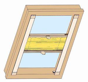 plissee mds mit seitenschienen sichtschutz u sonnenschutz f r fakro dachfenster ebay. Black Bedroom Furniture Sets. Home Design Ideas
