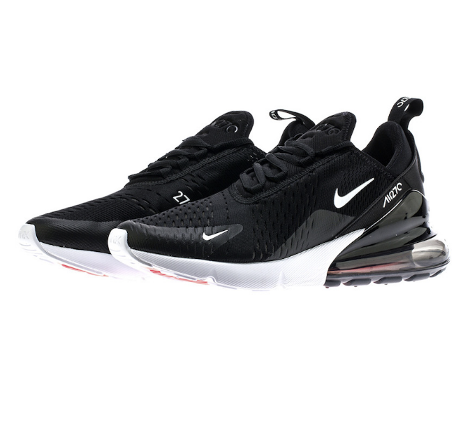 finest selection 77453 940c1 Nike Air Max 270 RunningSneakers shoes Black White White White AH8050-002  Sz5-13 Limited cdd2ed