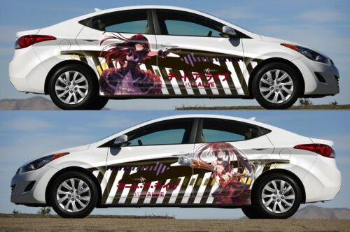 Date A Live Tokisaki Kurumi #2 Side Wrap Color Vinyl Sticker Decal Fit Any Car
