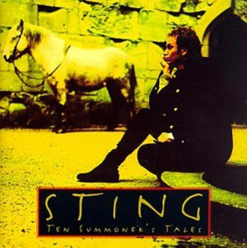 1 of 1 - Sting - Ten Summoner's Tales (Jewel Box) [New CD]