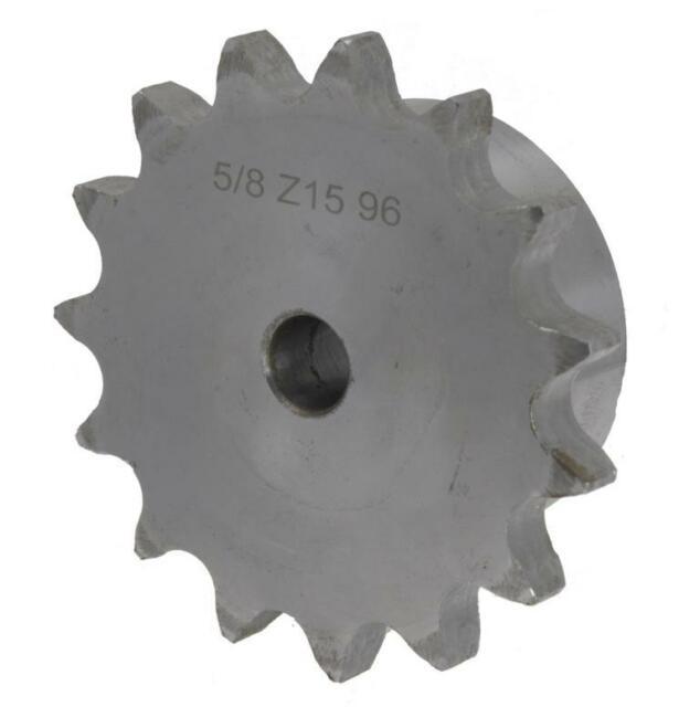 """10B 12 Zähne Kettenrad mit einseitiger Nabe Simplex 5//8/""""x3//8/"""" 15,875x9,65 mm DIN"""