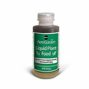 Liquid-Plant-food-Aerogarden-SuperGrow-3oz-Hydroponics-Seed-Start-Nutrients-New