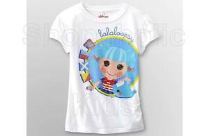 SFK Lalaloopsy Girl's Graphic T-Shirt White