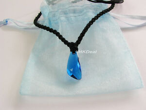 H2o just add water dvd blue crystal mako mermaids necklace the image is loading h2o just add water dvd blue crystal mako aloadofball Images