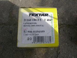 Textar-Bremsbelaege-Rover-Iveco-2116018005-T4047neu-ovp