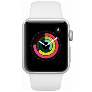 Apple-Watch-Series-3-GPS-with-White-Sport-Band-38mm-Silver-Model-MTEY2LL-A