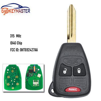 TUPARTS 1x Keyless Entry Remote Car Key Fob Compatible for 05-16 Jeep Car Keyless Entry Remote Replacement for 05134937AA