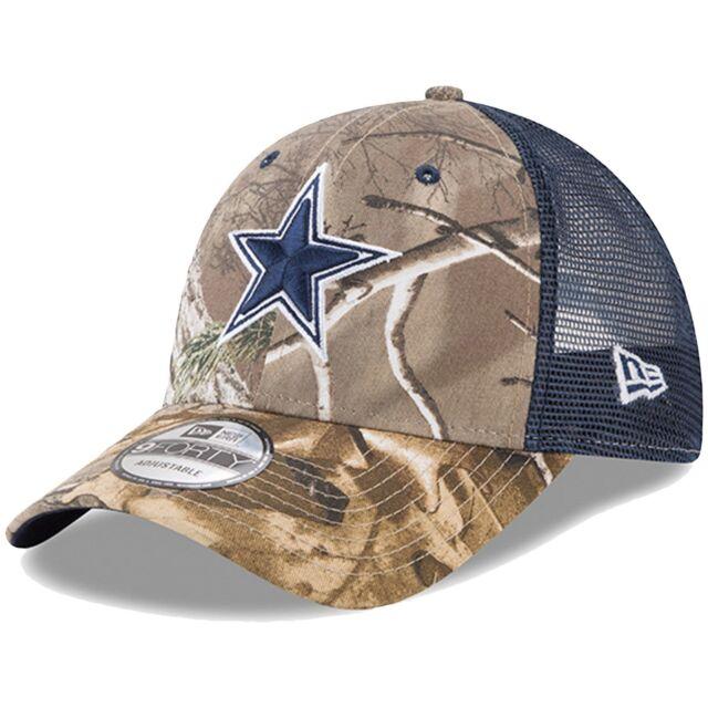 super popular 53e5e 2ce36 ... amazon dallas cowboys navy realtree trucker snapback hat cap 3f1a0 ff8dd