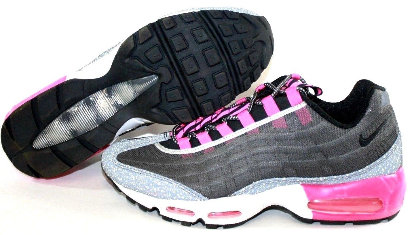 NEW Mens NIKE Air Max 95 Premium Tape 599425 006 Grey Pink Sneakers Shoes NO BOX Brand discount
