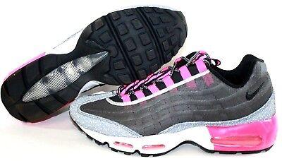 NEW Mens NIKE Air Max 95 Premium Tape 599425 006 Grey Pink Sneakers Shoes NO BOX | eBay