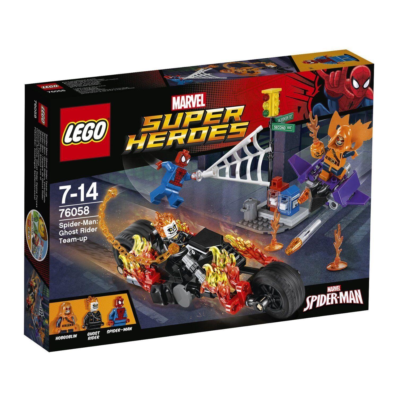 LEGO SUPER  HEROES 76058 SPIDER-uomo GHOST RIDERS tuttieata squadra UP MARVEL  alta qualità generale