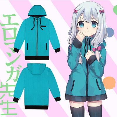 Eromanga sensei Izumi Sagiri Coat Jacket Sleepwear Pajamas Cosplay Costume
