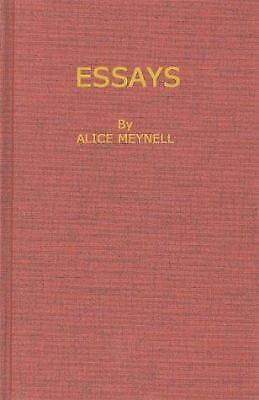 Essays by Meynell, Alice Christiana Thompson