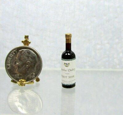 Dollhouse Miniature Replica Napa Valley Cabernet Sauvignon Wine Bottle HR53930