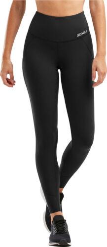 2XU Fitness Hi-Rise Womens Long Compression Tights Black
