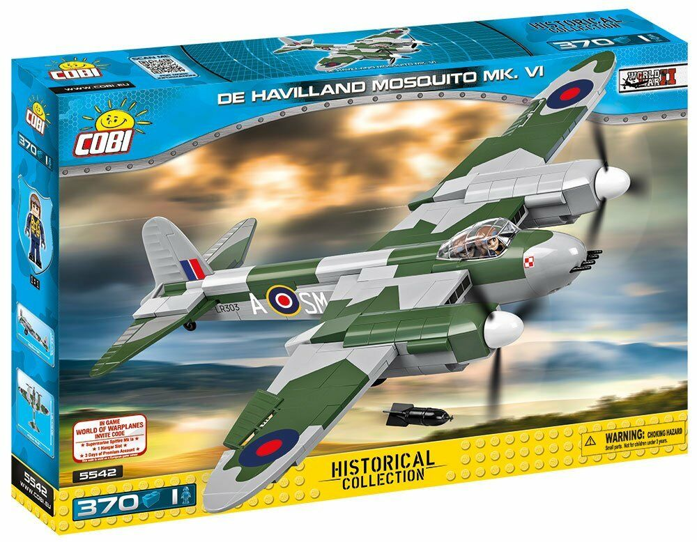 COBI Historical Collection Model Building Kits (370 Piece), Multicolor Multicolor Multicolor 941483