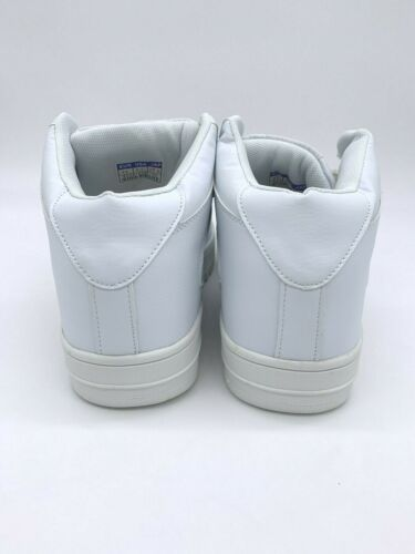 Crown Kicks Womens Shoes Athletic Sneakers High Tops White