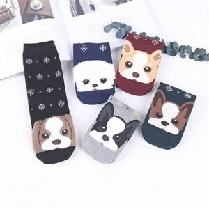 Unisex-Cotton-Animal-Socks-Animation-Character-Cute-Gift-Short-Casual-Socks-Lot
