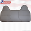 Bench Lean Back Vinyl Replacement Cover Gray 2001 Ford F250 F350 F450 F550 XL