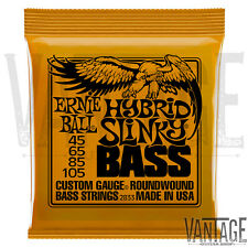 Ernie Ball 2833 Hybrid Slinky Nickel Wound Electric Bass Strings (45-105)