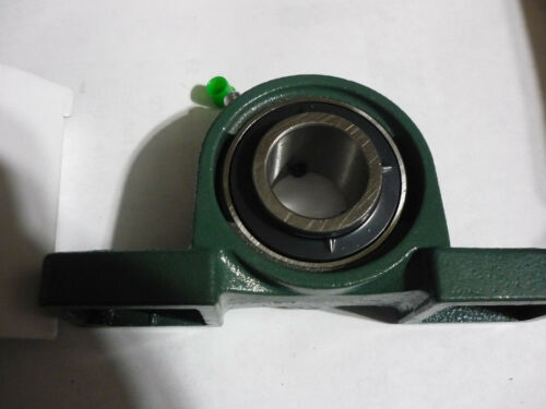 """4 Four New Cast Iron Pillow Block Mounted Bearings 1/"""" Inch Insi.."""